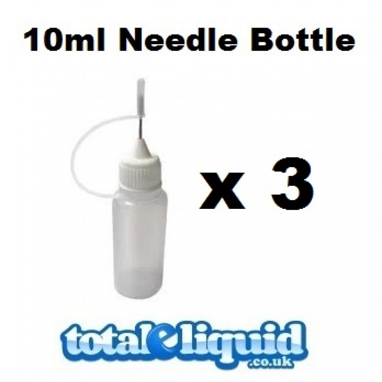 Set of 3 x 10ml Needle Bottles