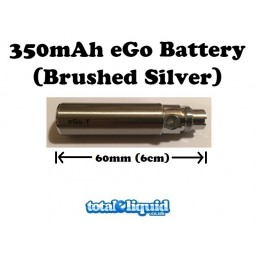 350mAh eGo Battery (Brushed Silver)