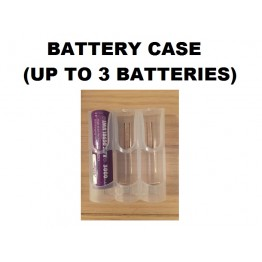Plastic Battery Case (holds up to 3 batteries)