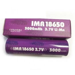Efest Purple 18650 High Discharge Rate Battery 3000mAh FLAT Top