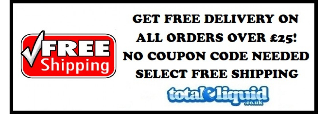 Free Delivery Orders Over £25