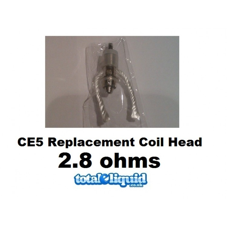 CE5 Replacement Coil Head 2.8 Ohms