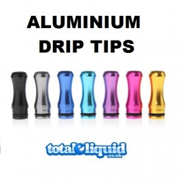 Aluminum Round Mouth Drip Tips