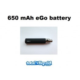 650mAh eGo Battery (Black)